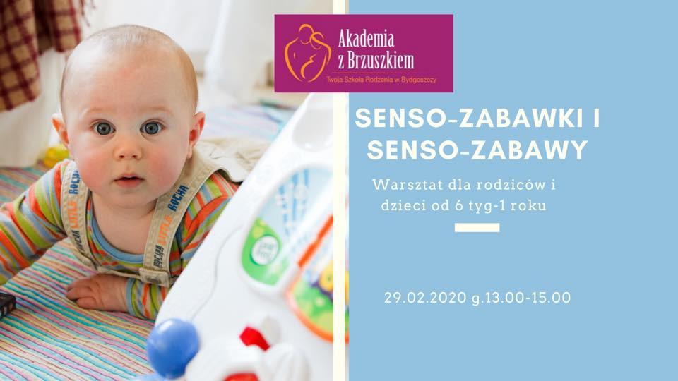Senso-zabawki i senso-zabawy warsztaty dla rodziców i dzieci